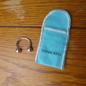 Authentic Tiffany & Co. Silver 925 Keychain